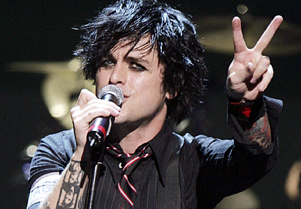 Billie Joe Amstrong of Greenday