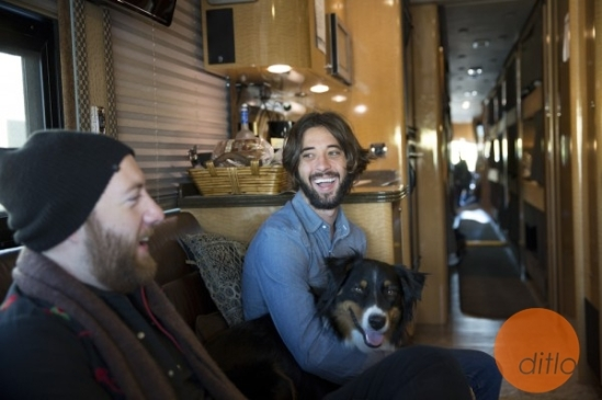 While on tour last fall, Ryan [and his dog] hung out with the folks from DITLO who took some awesome pictures for his DITLO page. Check out Ryan's DITLO page at the link below