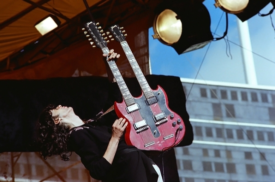 Jimmy Page of Led Zeppelin. Richard McCaffrey/ Michael Ochs Archive/ Getty Images