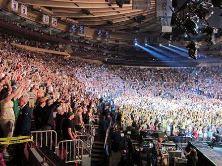 Pearl Jam's concert @ Madison Square Garden - 2010