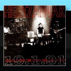 Hertzainak - Zuzenean 91-01-19