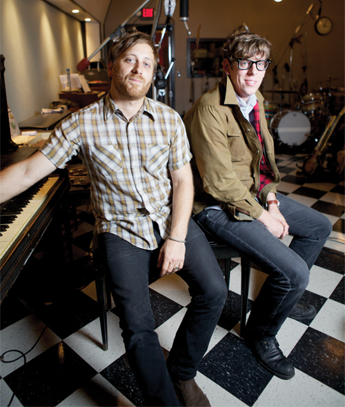 Dan Auerbach & Patrick Carney of The Black Keys.