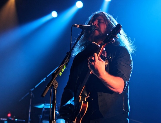 Jim James of My Morning Jacket @ On The Beach '13 (Photo: C. Rotolo)