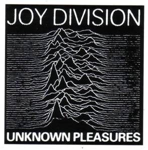 Joy Division - Unknown Pleasures / Cover art by Peter Saville