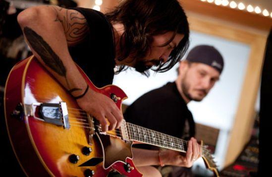 David Growl of Foo Fighters