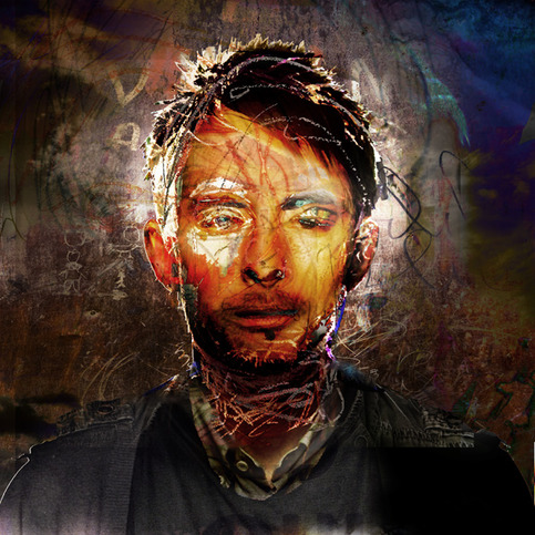 Thom Yorke by Jeremy Cowart