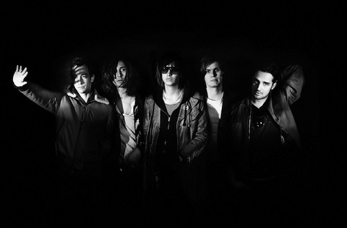 Rock band The Strokes