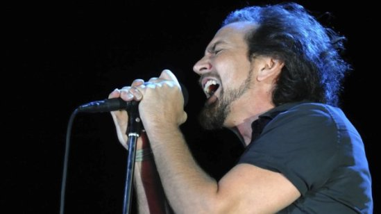 Eddie Vedder - Singer and frontman of Pearl Jam. Photo: Getty Images