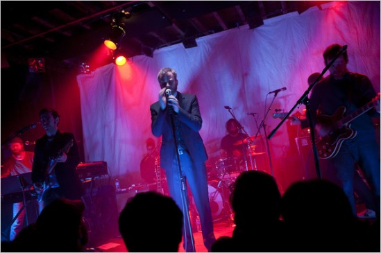 The National playing at the Bell House in Brooklyn in March. By Nicholas Dawidoff