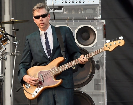 Adam Yauch performs at the Live Earth concert in London. Evan Agostini/Getty Images for Virgin Mobile USA