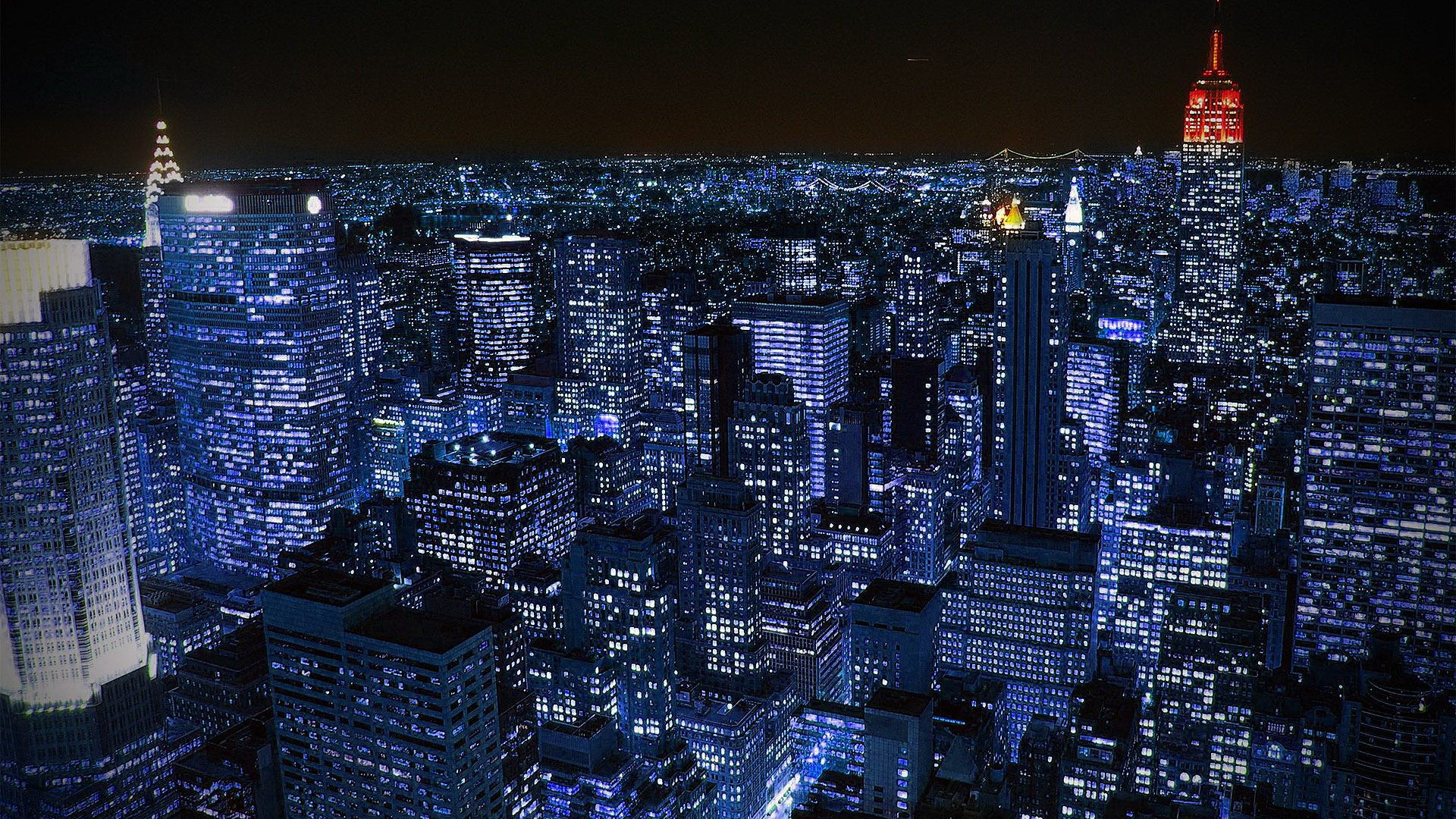 Cityscapes Night Lights New York City Scenic Skyscapes Fresh New Hd