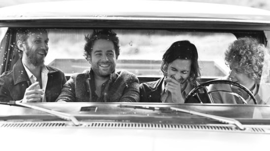 Dawes is Tay Strathairn, Taylor Goldsmith, Wylie Gelber and Griffin Goldsmith. Sam Jones/Courtesy of the artist