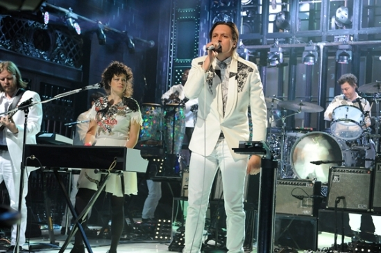 Win Butler of Arcade Fire performs in New York City. Photo:  Edelson/NBC/NBCU Photo Bank