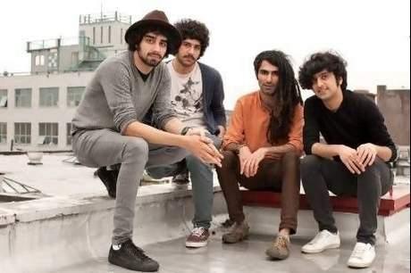 The Yellow Dogs, from left, Arash and Soroush Farazmand, killed on Monday, and Siavash Karampour and Koory Mirz.