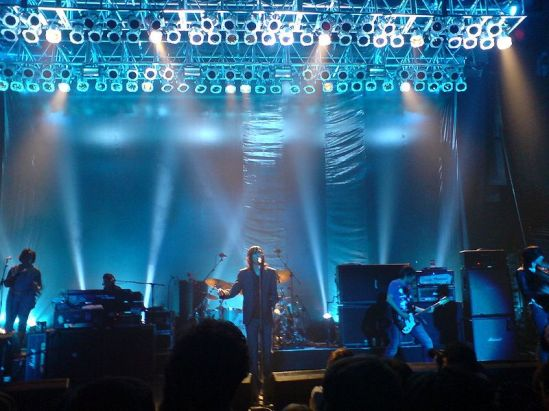 Scottish band Primal Scream performing in Southampton on 29 November 2006. Photo:  Phil Guest