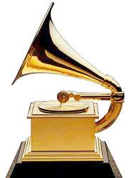 The Grammy statuette