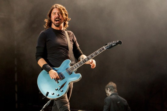 David Grohl of Foo Fighters