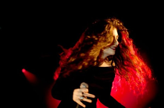 Lorde performing in New York last year. Joshua Bright for The New York Times