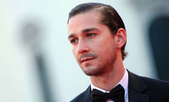 Singer and actor Shia LaBeouf