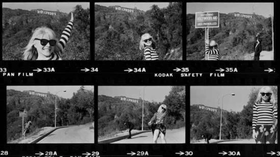 Debbie-Harry-contact-sheet-by-Chris-Stein