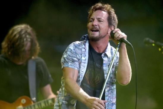 Eddie Vedder - Frontman of Pearl Jam