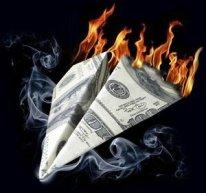 Dollar-en-feu