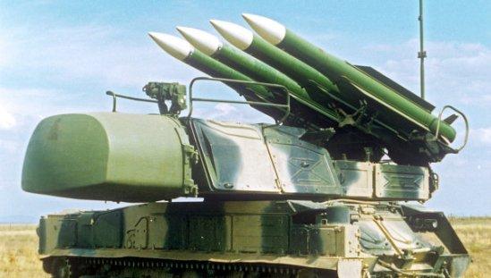 BUK-M1 air defense system