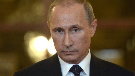 President of Russian Federation Vladimir Putin.