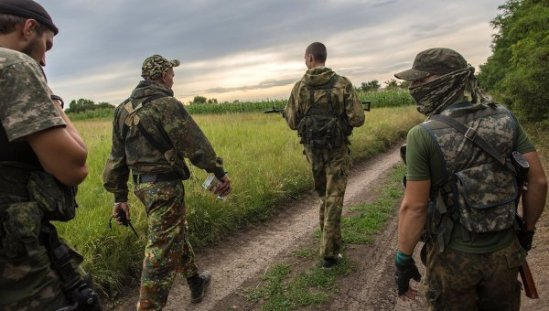 Ukrainian servicemen switch sides to join the independence supporters in eastern Ukraine.