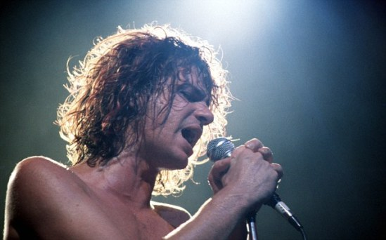 03 Oct 1986, Sydney, Australia --- Michael Hutchence of INXS --- Image by © Bob King/Corbis
