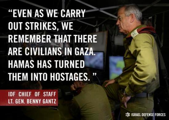 IDF     @IDFSpokesperson Hamas uses civilians as human shields. 10:47 AM - 11 Jul 2014