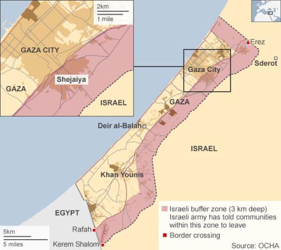 Israeli-Buffer-Zone