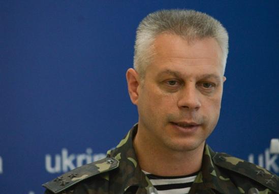 Andrey Lysenko, representative of the Information Center of the Ukrainian National Security and Defense Council (RIA Novosti / Evgeny Kotenko)