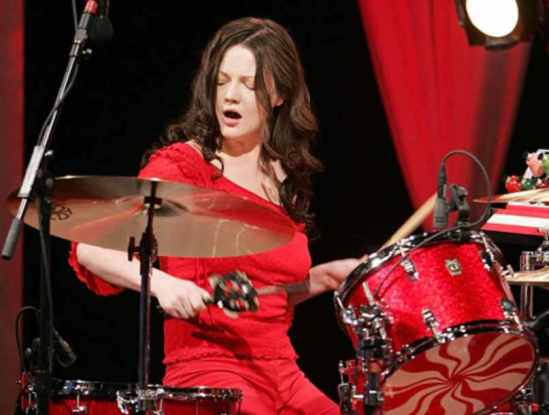 Drummer Meg White