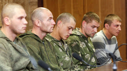 A group of Russian servicemen detained in Ukraine
