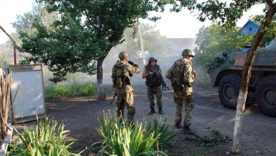 Situation in Donetsk region.© RIA Novosti. Guennady Dubovoy