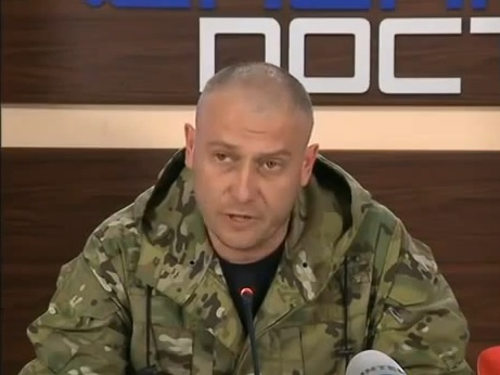 Dmytro Jarosh, leader of the Right Sector