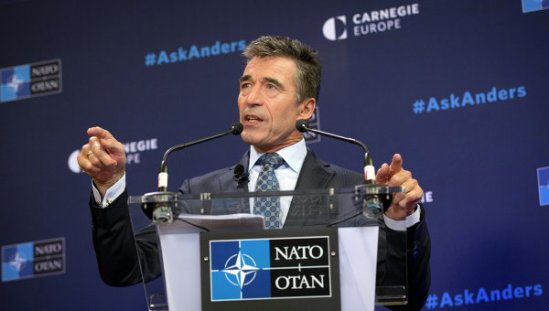 NATO Secretary General Anders Fogh Rasmussen is set to leave his post October 1.