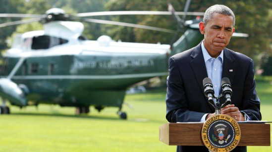 US President Barack Obama (Reuters/Yuri Gripas)