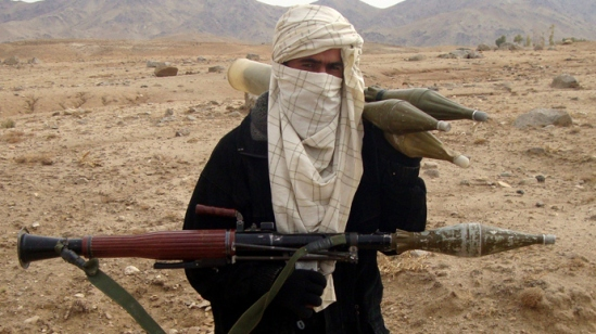 Al-Qaeda fighter (AFP Photo)