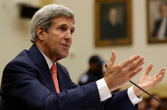 U.S. Secretary of State John Kerry (Reuters/Gary Cameron)