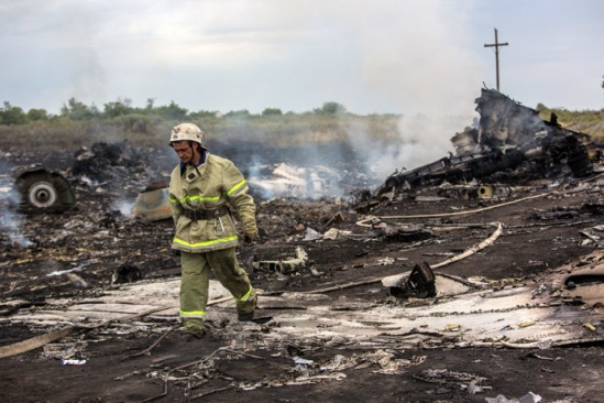 Malaysian Boeing crashes in Ukraine