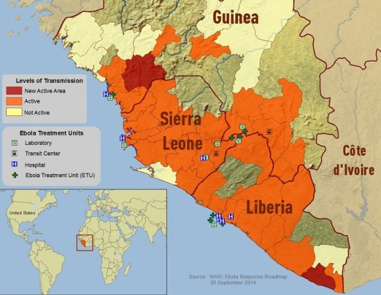 Ebola Response Roadmap 10 October 2014 (World Health Organization)
