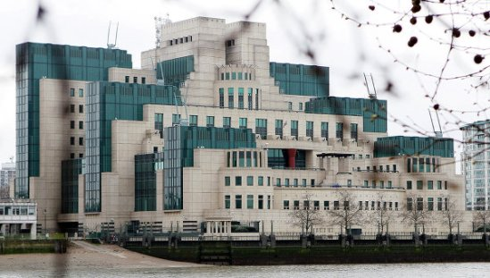 MI6 HQ in London
