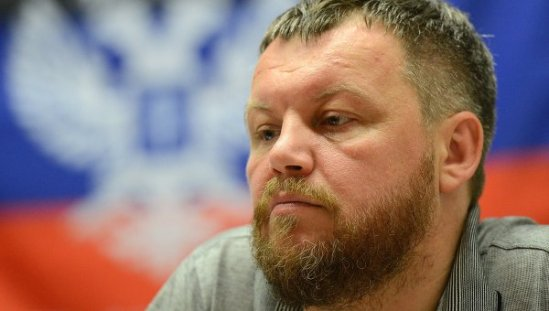 Deputy Prime Minister of Donetsk People's Republic Andrei Purgin