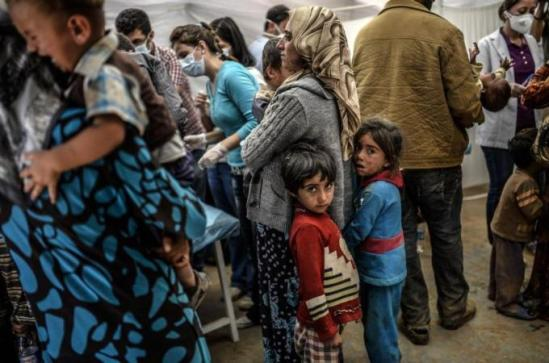 Syria's conflict has caused the collapse of its health system [AFP]
