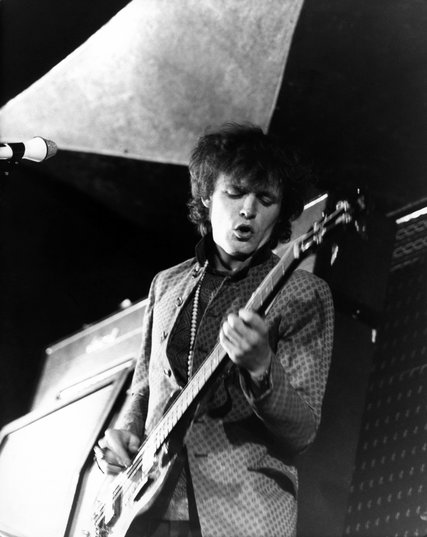Mr. Bruce performing with Cream at a music festival in Windsor, England, in the late 1960s. Credit David Redfern/Redferns