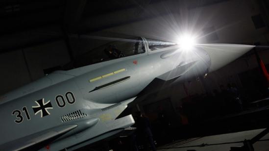 Eurofighter Typhoon.(Reuters / Michaela Rehle)