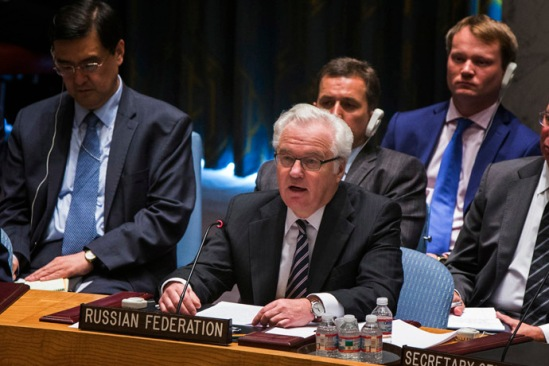 Russia's Ambassador to the United Nations Vitaly Churkin (Reuters/Lucas Jackson)