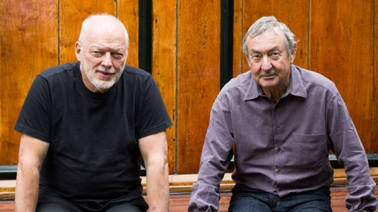 Pink Floyd David Gilmour and Nick Mason